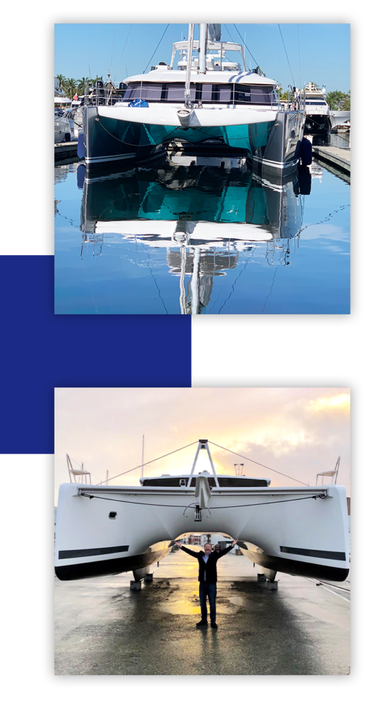 Yacht delivery services